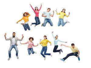 ダンスを踊る人々